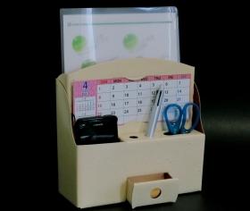 紙製の簡単組立ファイル収納BOX