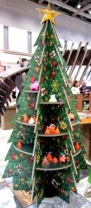 クリスマスツリー棚